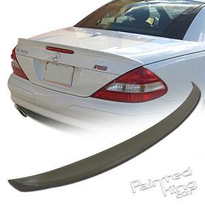 UNPAINTED Mercedes BENZ R230 Convertible SL Trunk Spoiler A Type Boot 11