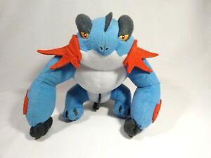 Pokemon-Mega-Swampert-Plush-Doll-Takara-Tomy-Japan-Legit-Toy-NO-Sound-Box-7-2-034