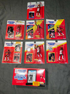 Lot of 8: 1988-1993 MICHAEL JORDAN Rookie NBA Starting Lineup SLU cards 🔥 RARE!
