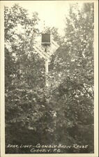 Chambly Quebec Basin Range Rear Light/Lighthouse Real Photo Postcard
