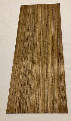 """4 Sheets 29.5"""" X 10.5"""" Mozambique Wood Veneer 8.5 Sq Ft"""