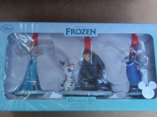 2015 D23 FROZEN ORNAMENT SET Limited Edition of 700