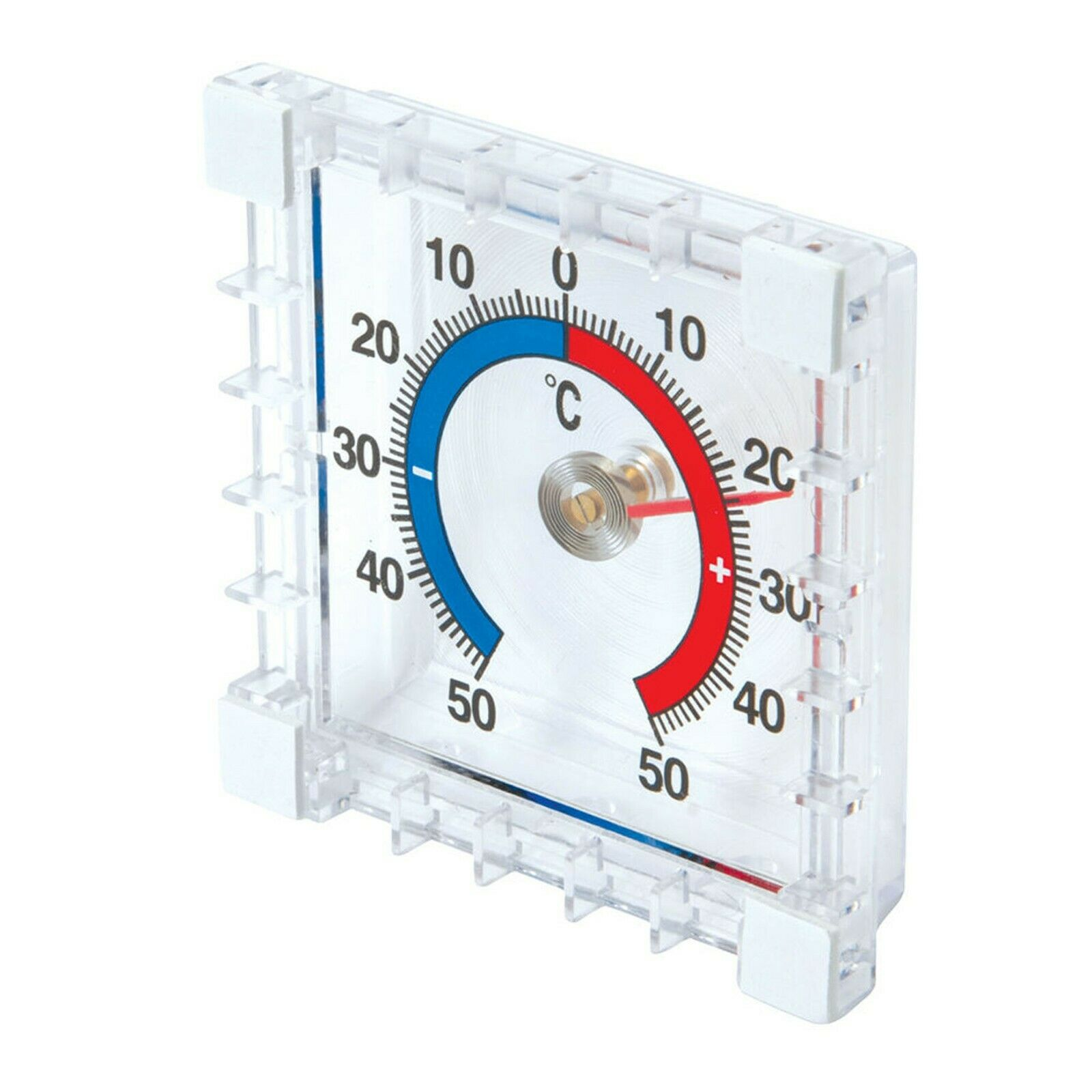 Square Window THERMOMETER HOME GARDEN KITCHEN EASY READ TEMPERATURE METER UK