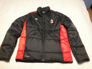Details about Adidas AC Milan padded winter jacket Men's: L