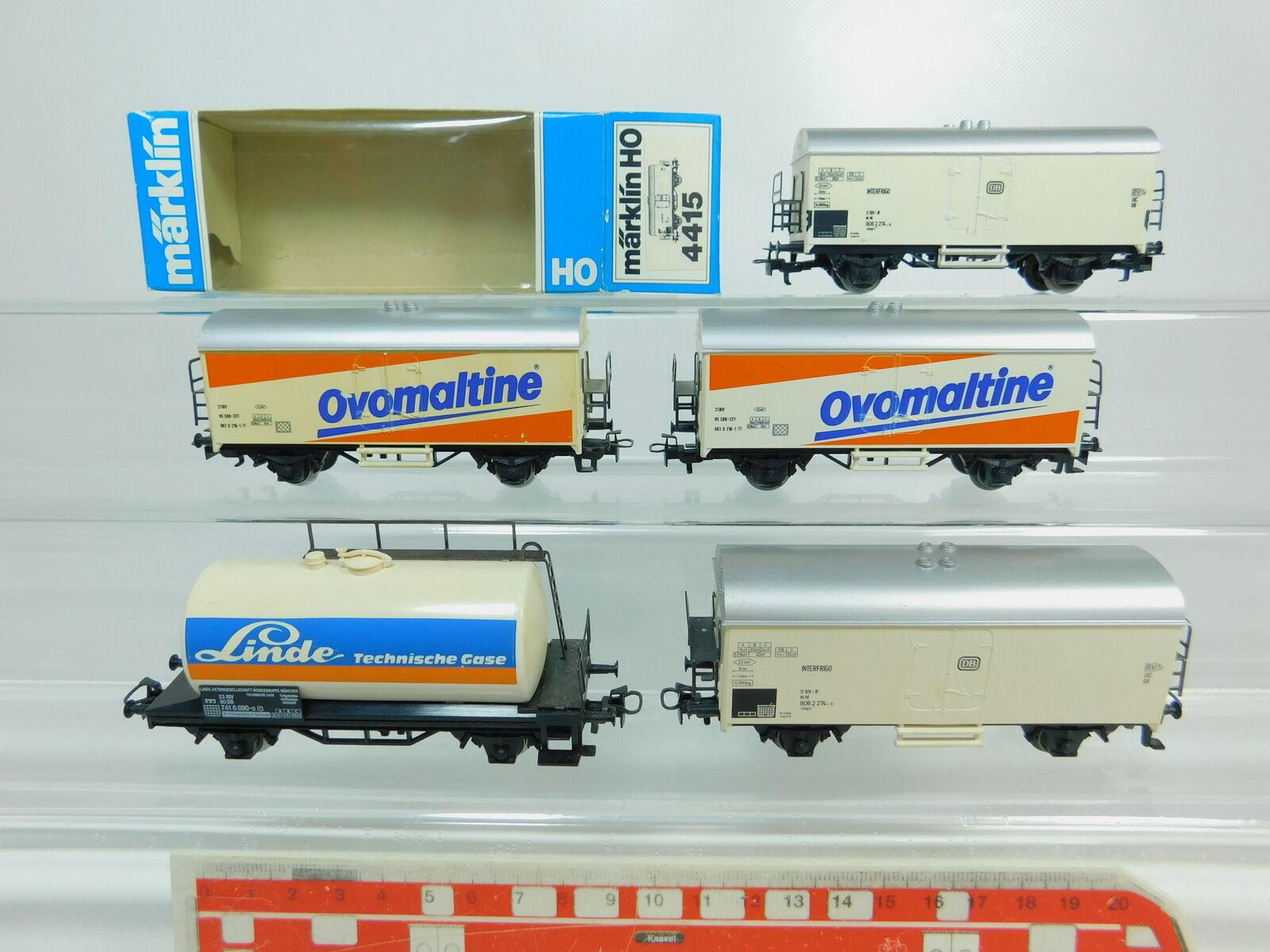 BP623-1 x Märklin H0 Ac Freight Car  Ovomaltine SBB +4415 Db, 2. Wahl 1x Ovp
