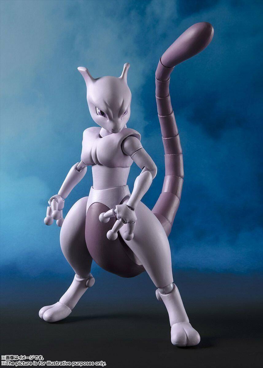 【Pre-Order】2019 BANDAI S.H.Figuarts Mewtwo Arts Remix Figure Pokemon Go F//S