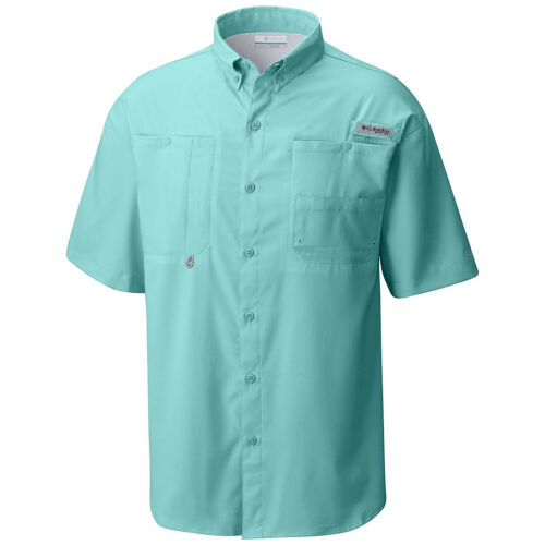 "Wick Vented S//S Fishing Shirt New Mens Columbia PFG /""Tamiami II/"" Omni-Shade"