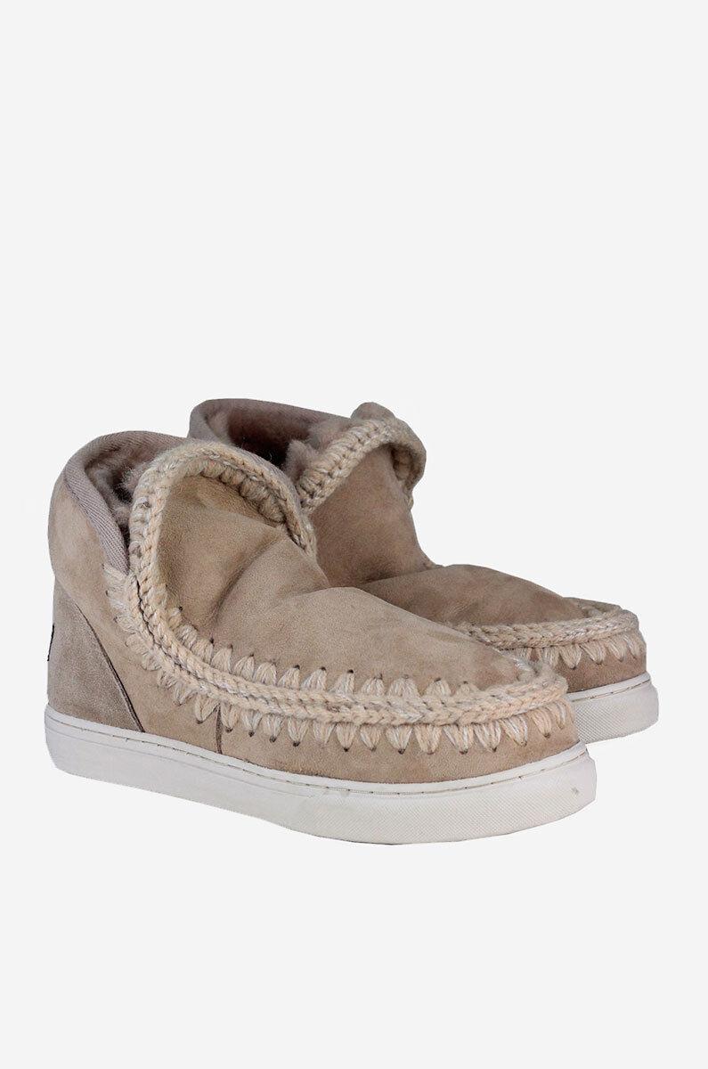 il più recente MOU ESKIMO KID scarpe da ginnastica avvio avvio avvio BAMBINA IROB CAMMELLO BEIGE ANTRACITE  in vendita scontato del 70%