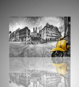trompe-l-039-oeil-Vespa-piaggio-adesivo-per-muro-wall-stikers-arredo-moderno