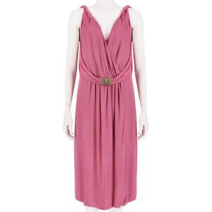 Emilio-Pucci-Luxurious-Rose-Pink-Draped-Grecian-Dress-IT42-UK10