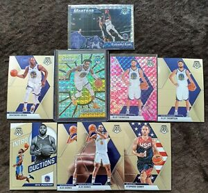 2019-20-Panini-Mosaic-Warriors-Lot-9-D-039-Angelo-Russell-Center-Stage-Prizm