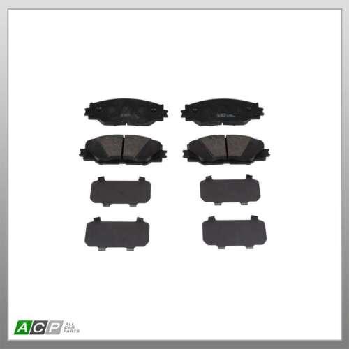 Fits Toyota RAV4 MK4 2.2 D-4D 4WD EuroBrake Front Disc Brake Pads