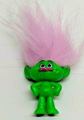Trolls Blind Bag Series 3 Mini Figure Pink Troll Pink Hair No Packaging