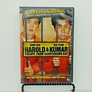 Harold & Kumar Escape From Guantanamo Bay (DVD, 2008 ...