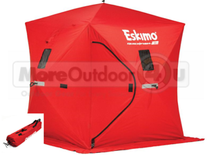 Doux 69151 Eskimo Quickfish 2 Ice Shelter Shanty 2 Homme Plus Petit Portable Ice Shelter-afficher Le Titre D'origine Dessins Attrayants;
