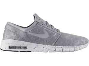 pretty nice aa39b 36e87 Image is loading Nike-STEFAN-JANOSKI-MAX-Wolf-Grey-Lace-White-