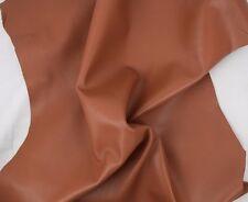 Leather Hide Skin SADDLE BROWN ,Thin Grade AA Leather,100% Genuine 5-6sqft