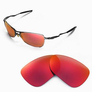 e499809c36e Image is loading New-Walleva-Polarized-Fire-Red-Lenses-For-Oakley-