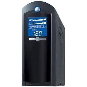 CyberPower CP1500AVRLCD 900W 1500VA Intelligent LCD UPS AVR Mini Tower - Black