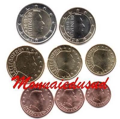 Disponible : Série 1 Cent à 2 Euro Luxembourg 2014 - Série UNC !!!!!!!!!!!!!!!!!