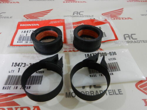 Honda CB 750 Four K0 K1 K2-K6 Gummi Auspuff+Schelle Verbindung Set original