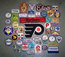 HUGE Lot of 46 Vintage Misc. State Sports Military Auto Travel Souvenir Patches