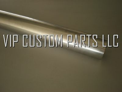 1x 2.5/' inch T-304 S//S Stainless Steel Exhaust Piping Tubing 4 Ft long Tube Pipe