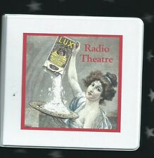 LUX RADIO THEATER 10+ mp3 cd set Bob Hope Bing Crosby Gloria Swanson + OTR drama