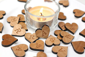 Personalised Table Confetti - Initials Love Sweet!!