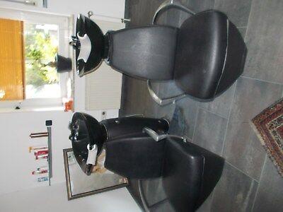 Salon & Spa Equipment Efficient Rückwertswaschbecken Friseurbedarf Von Mg Bross,1kaum Benutzt