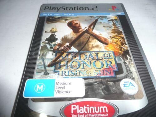1 of 1 - METAL OF HONOR RISING SUN PS2 GAME NEW