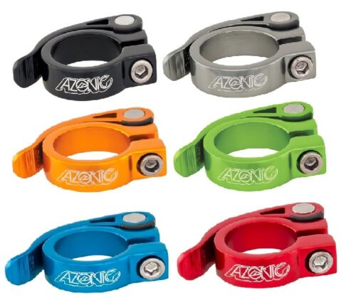 Azonic Bicycle Seat Clamp Gonzo Aluminum Clamp 31.8mm Multicolor  #3034