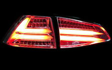 KLARGLAS LED BAR RÜCKLICHTER SET VW GOLF VII 7 ROT KLAR RED LIGHTBAR LED BLINKER
