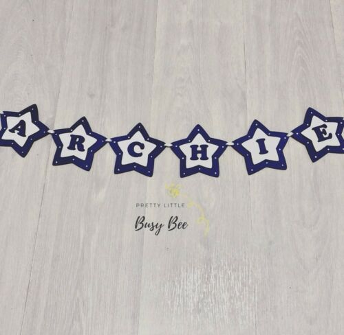 CHRISTMAS DELIVERY NOT GUARANTEED! Wooden Personalised Bunting!!