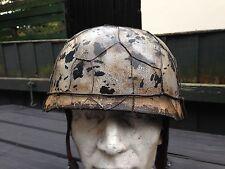 Replica WW2 Metal German paratrooper Helmet Size 58/59