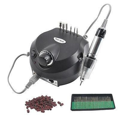 Elettrico Nail Filing Macchina Manicure Pedicure Electric Drill File Tool Kit DE
