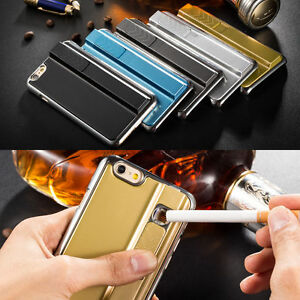 check out 52402 e39e4 Details about Rechargeable Windproof Electronic Cigarette Lighter Case for  iPhone 5/5s/6/6plus