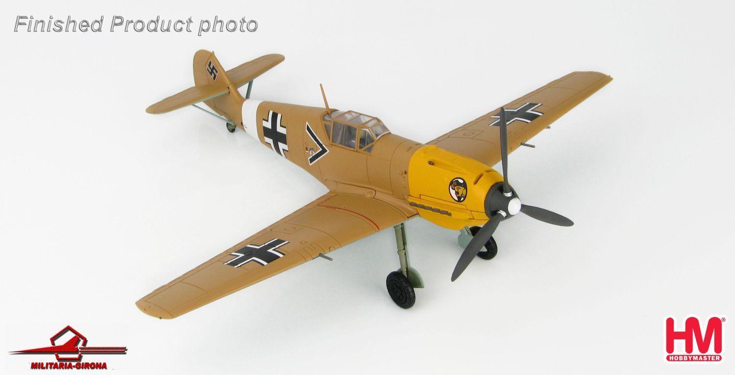 Hobby Master 1 48 HA8704 Messerschmitt Bf 109E Luftwaffe JG27 Ludwig Franziskett