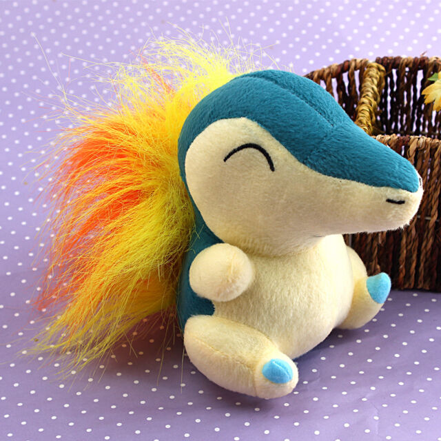 Lovely Nintendo Cyndaquil Plush Soft Doll Toy Gift Stuffed Animal Game Collect
