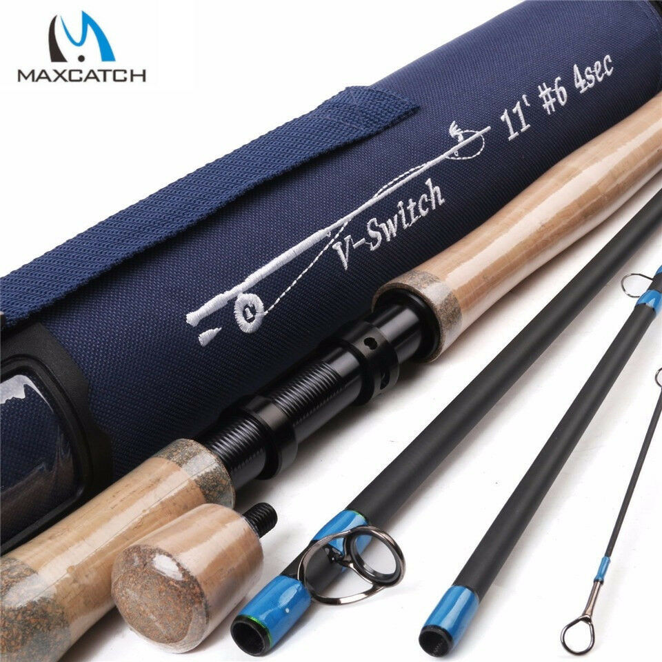 Maxcatch Maxcatch Maxcatch Switch Rod Medium-Fast Action, 5wt-9wt, IM10 Carbon Fiber, Spey Rod 8888d8