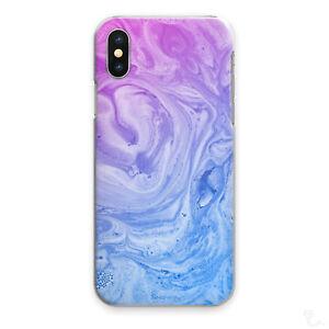 PURPLE-MARBLE-PHONE-CASE-BLUE-PURPLE-SWIRL-HARD-COVER-FOR-APPLE-SAMSUNG-HUAWEI