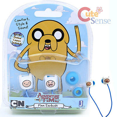 Adventure Time Finn Face Earbuds Earphone  Audio Cell Phone Mp3 Ear phone