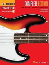 Bass Method Bks. 1-3 by Ed Friedland and Hal Leonard Corp. Staff (1996, CD / Pa…