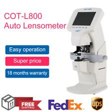 Auto Optical Lensmeter Digital Lensometer Focimeter Vertometer With Pd Uv Printer
