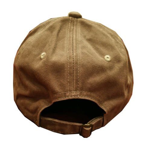 Khaki Washed cotton cap dad hat NCIS Naval Criminal Investigative Service