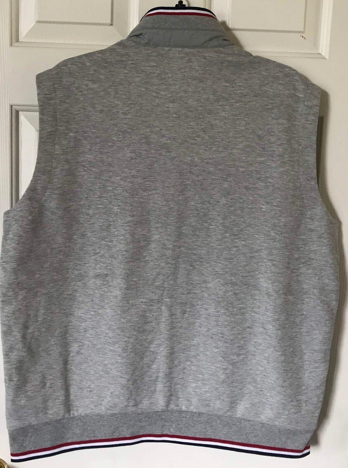 ... 145 NWT Herren Polo Ralph Lauren Performance Down Panel Double Double  Panel Knit Vest grau M L ... 3fa728a09e