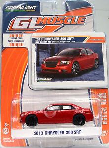 Chrysler-300-SRT-rouge-Annee-de-construction-2013-echelle-1-64-de-Greenlight