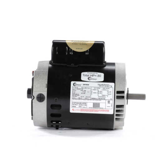 Jet Pump Motor Century # B120 1//2 HP 3450 RPM 56C Frame 115//230V Swimming Pool