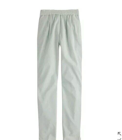 J Crew Harlow Drapey Pants Mint Green Drawstring NWT 2