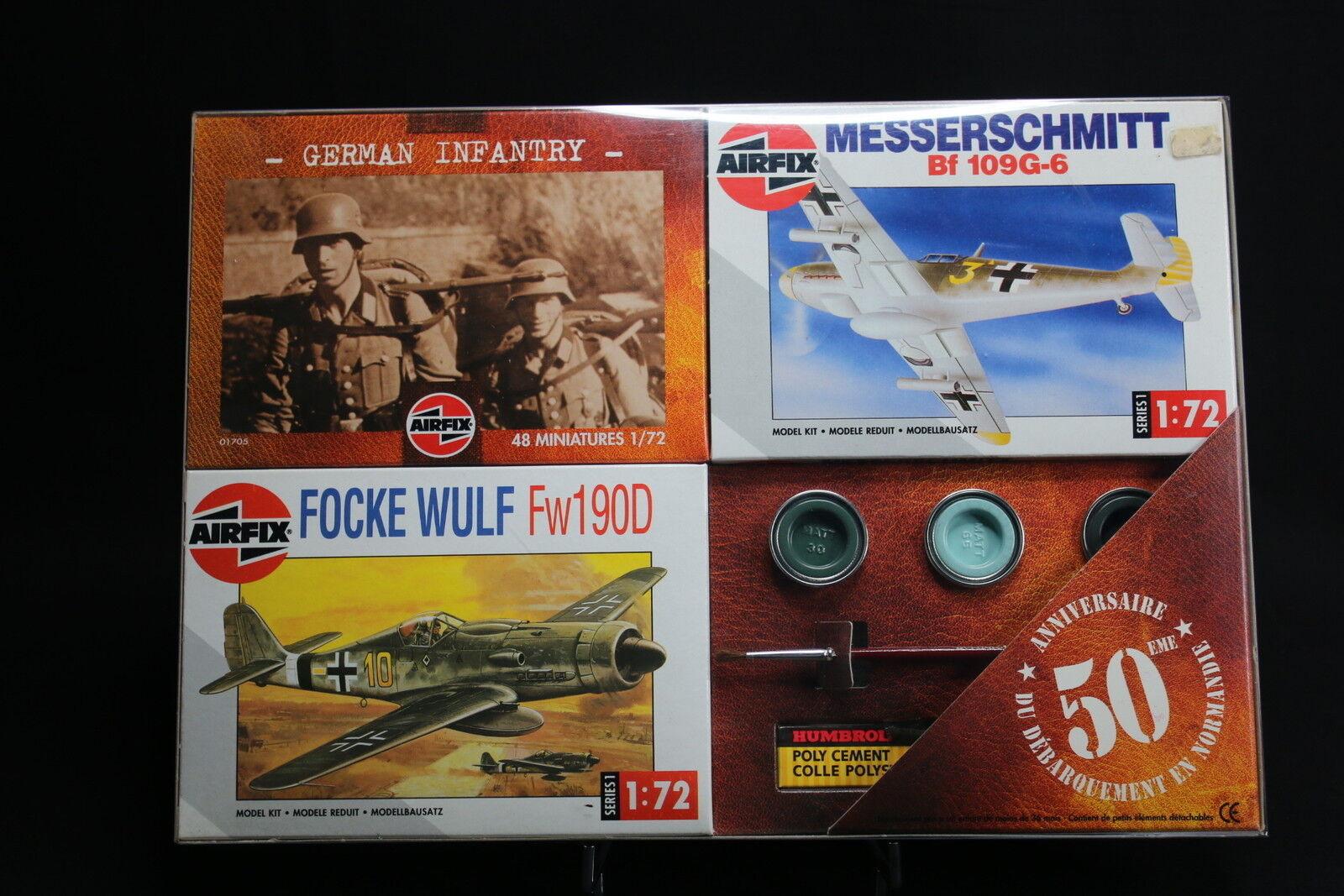 XM018 AIRFIX Collection Day 50 Anniversaire débarquement 01072 01064 01705 WWII